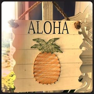 🍍 ALOHA 🍍 Wall Decor